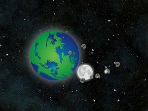 陨石大冲撞
